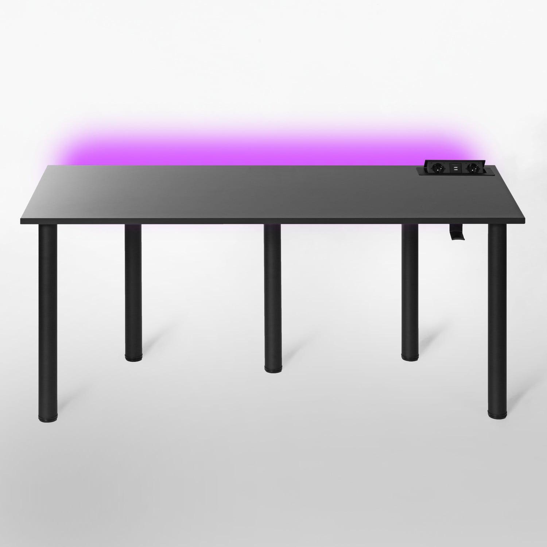 biurka z kontaktem gamingowe